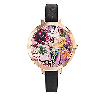 Christian Lacroix Analog Watch Quartz Woman with Leather Strap CLWE03