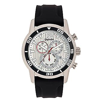 Gigandet G14 - 004 - Men's watch, silicone strap, black color
