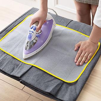 2 Pieces Protective Insulation Ironing Board Cover Random Colors Against Pressing Pad Ironing Cloth Guard Protective Press Mesh