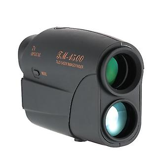 في الهواء الطلق المدمجة 7X25 Rangefinder 1500m المدى الباحث عن الغولف Rangefinder الصيد أحادية تلسكوب المسافة متر اختبار السرعة