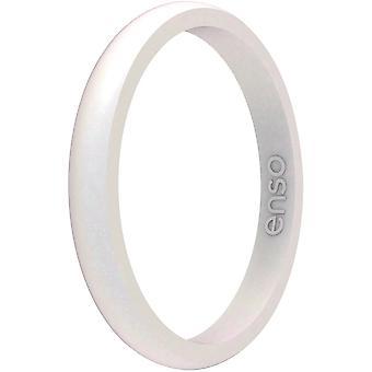 Enso Rings Halo Rodný kámen série Silikonový prsten - Opal