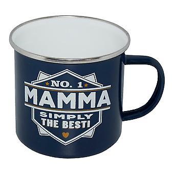 Taza Retro No.1 Mamá