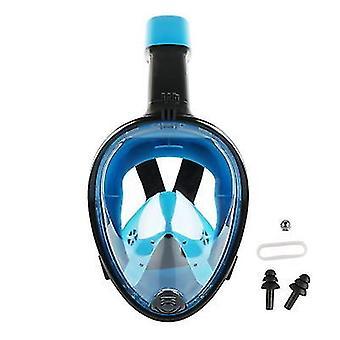 M 12cm full face snorkeling mask x1584