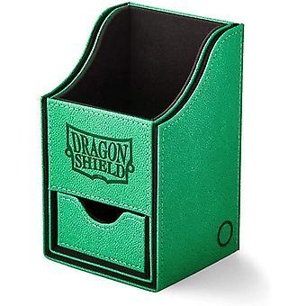 Dragon Shield Nest+ Box 100 - Green/Black