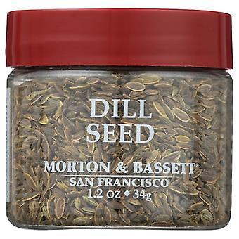 Morton & Bassett Seasoning Dill Seed, Case of 3 X 1.2 Oz