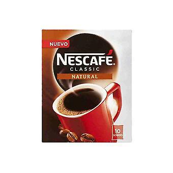 Cafea solubilă Nescafé Natural (10 uds)