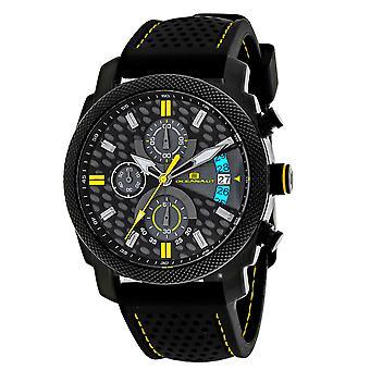Oceanaut Kryptonita negro y gris dial reloj - OC2322