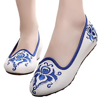 Kite Pointed Old Beijing Cloth Embroidered Shoes