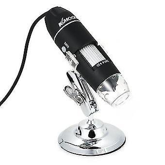 K1600X Magnification USB Digital Microscope with OTG Function Endoscope 8-LED Light Magnifying Glass