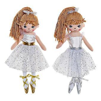 Rag Doll DKD Home Decor Ballet Dancer (2 pcs) (18 x 12 x 45 cm)