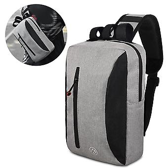 2-in-1 Bicycle Trunk Bag Casual Chest Sling Pack