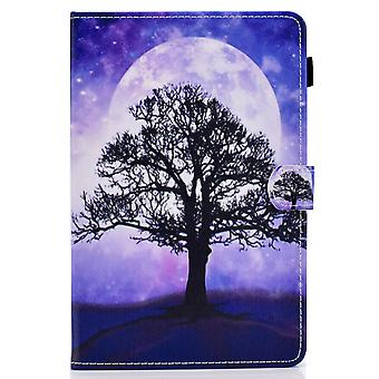 Case For Ipad Pro 11 2021 Cover With Auto Sleep/wake Pattern Magnetic - Tree