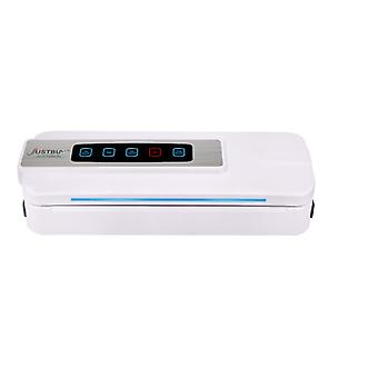 9Food Vacuum Sealer Seal Machine With LCD Touch And Cutter Food Storage Packer Vacuum Bags(white)
