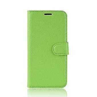 Custodia pieghevole con multi-tasca per Apple iPhone X / XS - Verde