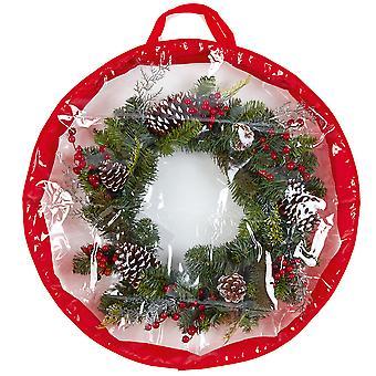 65cm diameter stor kapacitet julkrans förvaringsväska