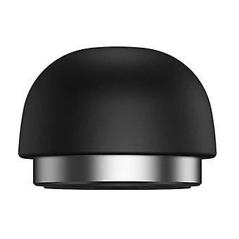 (Negru) Portabil Mini ciuperci Stand Notebook Notebook Suport Laptop Stand Răcire