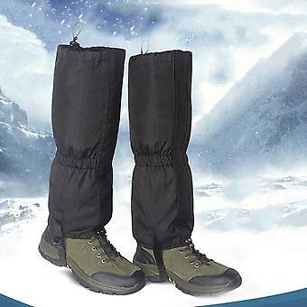 1 Pari vaellus suksi elastinen helppo käyttää suojakansi työkalut lämpimämpi metsästys ulkona kävely vedenpitävä hengittävä kävelyjalka