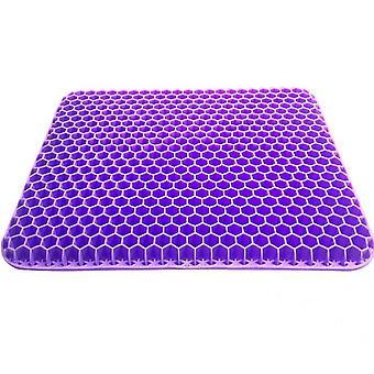 Gel Seat Cushion,double Thick Egg Seat Cushion(Purple)