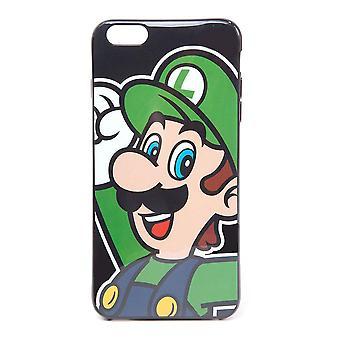 Super Mario Bros. Luigi Face Phone Cover für Apple iPhone 6 Plus
