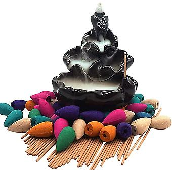 280Pcs backflow incense cones grains for home aromatherapy zf0426