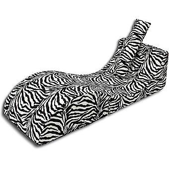 Faltbares Relax-Sofa Zebra