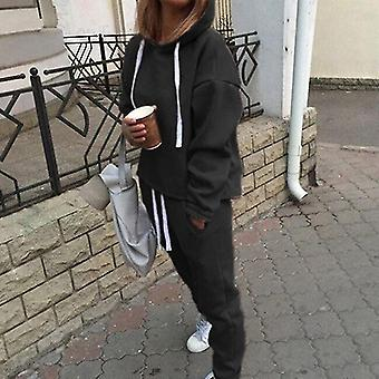 Women Long Sleeve Pullover Sweatshirt & Pants
