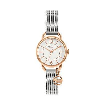 Radley Crest Ry4527 White Dial Leather Strap Ladies Watch