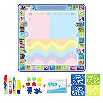 Drawing Mat Magic Water Coloring Doodle Montessori Toys Painting Board Educational Toys For Kids