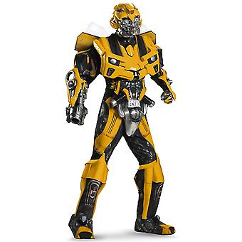 Bumblebee Theatrical Quality Transformers Movie Superhero Adult Mens Costume XL