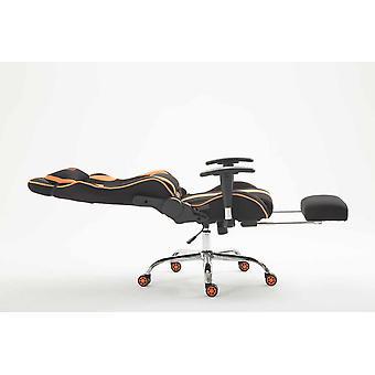 Toimistotuoli - Työpöytätuoli - Kotitoimisto - Moderni - Musta - Metalli - 70 cm x 58 cm x 125 cm