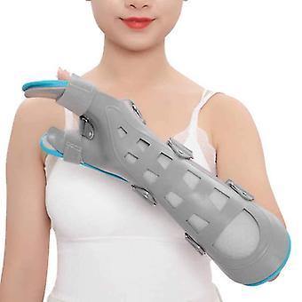 Cinta de suporte de pulso ajustável fratura da mão fixa cinta torção postura de tala do túnel do carpo