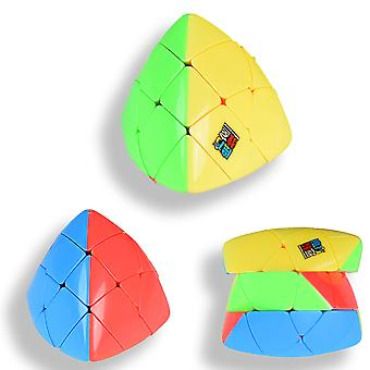 Speed Pyramid Dumpling Magic Rubik Cube 4 Couleur 3x3 Puzzles Educationa