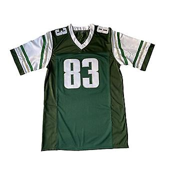 Men 83 Vince Papale Invincible All Stitched Movie Football Jersey Green S-xxxl