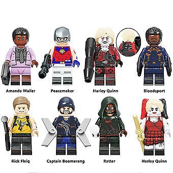 Dc Suicide Squad! Assembled Building Block Doll Set! Kids Gift!
