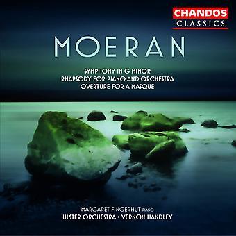 E.J. Moeran - Moeran: Symphonie en sol mineur; Rhapsodie pour Piano et orchestre; Ouverture pour une importation USA Masque [CD]