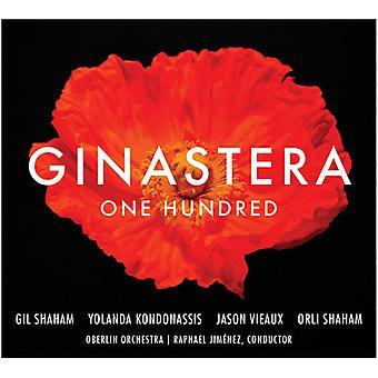 Shaham, G / Kondonassis - Ginastera: One Hundred [CD] USA import
