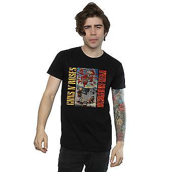 Apetite do Guns N' Roses homens proibidos de t-shirt