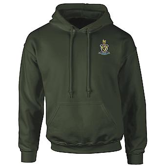 Die Queens Royal Hussars Stickerei Logo - offiziellen britischen Armee Hoodie Sweatshirt mit Kapuze
