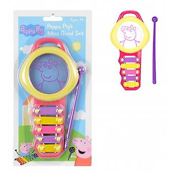 Peppa Pig Mini Bandsatz