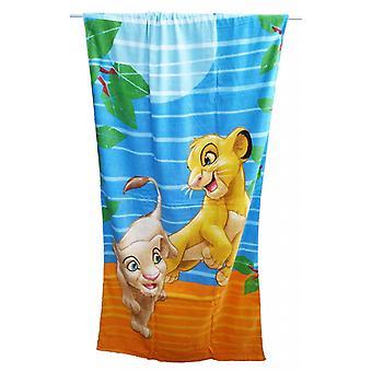 Baie telo Simba Regele leu Caleffi 75x150cm