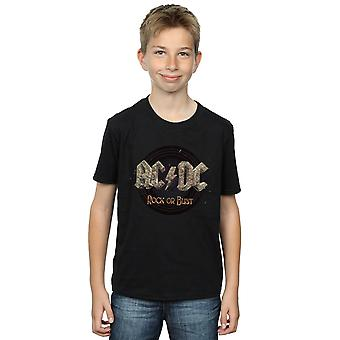 AC/DC Boys Rock Or Bust T-Shirt