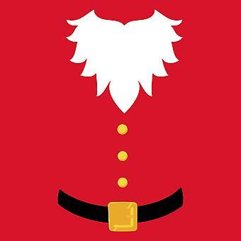Christmas Shop Mens kort ärm Santa T-Shirt