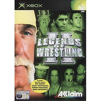 Legends of Wrestling II (Xbox)-ny