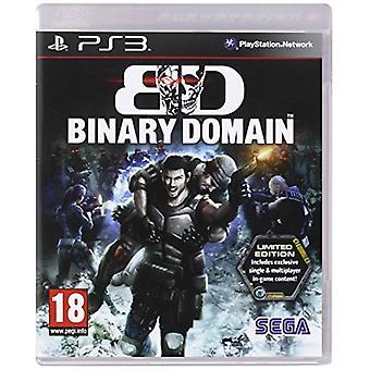 Binary Domain Limited Edition Spiel (PS3) - Neu