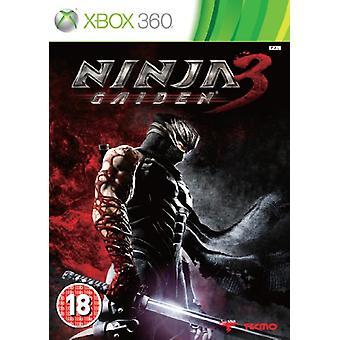 Ninja Gaiden 3 (Xbox 360)-fabriks forseglet