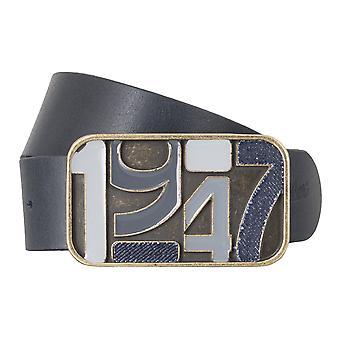 Des hommes ceintures WRANGLER ceinture cuir ceintures bleu 4785