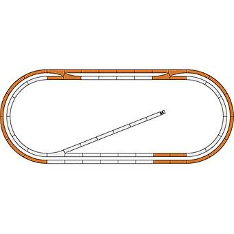 51250 H0 Roco GeoLine (incl. track bed) Expansion set