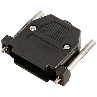 MH Connectors 2360-0102-23 D-SUB housing Number of pins: 25 Plastic 180 ° Black 1 pc(s)