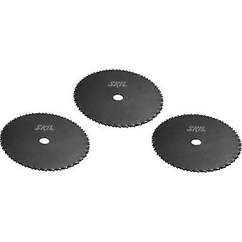 SKIL 2610Z06137 Circular saw blade set 89 x 10 mm Number of cogs: 80 3 pc(s)