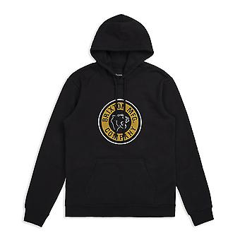 Brixton Forte Pullover Hoodie Black